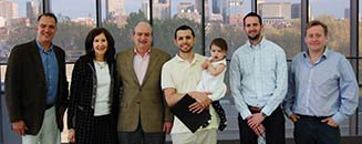 Carlos Sauer and Housman Family Group Photo