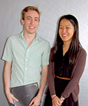 Kevin Sackel and Jane Wang